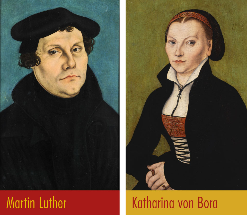 Martin luther and katrina vonbora